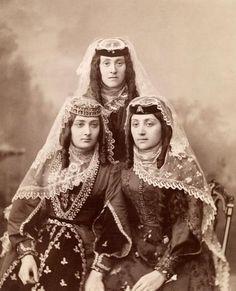 Armenian women from Tiflis, 1890