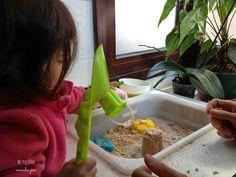 Mi pequeño mundo gira: Asi utilizamos la mesa sensorial II
