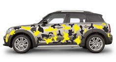 CAR CAMO KIT STICKERS CAMOUFLAGE ANY 2 COLOURS VINYL WRAP DECALS JDM DECALS Mercedes Black, M Class, 2 Colours, Jdm, Vinyl Decals, Camouflage, Badge, Stickers, Mini