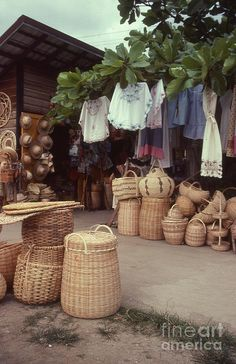 Outdoor Market in Kingston, Jamaica