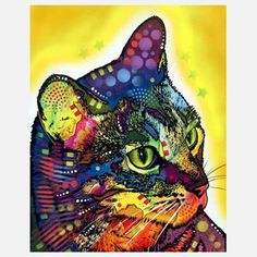 The Confident Cat, $18, now featured on Fab.