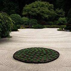 Zen Rock Garden Design Business Card Html on