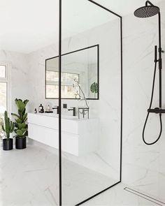 Wooden Bathroom, Bathroom Doors, Bathroom Interior, Bathroom Inspo, Bathroom Inspiration, Bathroom Ideas, Restroom Ideas, Restroom Remodel, Stone Bathroom