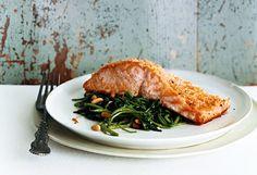 Buffalo Salmon recipe
