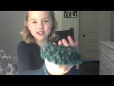 Finger Knitting for kids by a kid (+playlist)