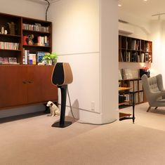 Our long time dealer in Tokyo, Soundcreate has just opened a new floor. The Studio is feeling right at home , close to the Wegner chair 😀 Monitor Speakers, Tokyo, Bookcase, Audio, Shelves, Flooring, Chair, Modern, Home Decor