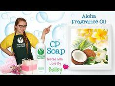 Soap Testing Aloha Fragrance Oil- Natures Garden