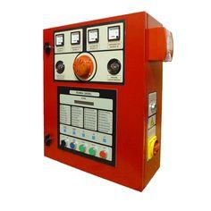 Cuadro eléctrico contra incendios para bomba principal con motor diésel. www.ceymacym.com