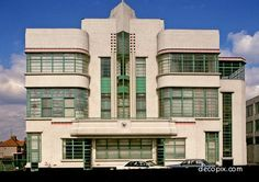 The Hoover Building on Western Avenue in Perivale, west London, England is. - The Hoover Building on Western Avenue in Perivale, west London, England is an example of Art - Art Deco Stil, Art Deco Home, Art Nouveau, West London, London Art, Art Deco Furniture, Furniture Chairs, Antique Furniture, Furniture Ideas