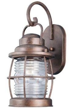 1 light outdoor hanging lantern in antique iron with soft siren outdoor lantern medium glided copper by home decorators collection 17900 antique courtyard outdoor lighting 1