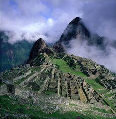 Machu Picchu und Urubamba River Valley von Wes Walker