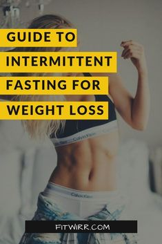 Best guide ever on intermittent fasting for weight loss. Curious what intermittent fasting is and how it helps you lose weight and burn fat? read this beginner's easy guide on how to fast to lose weight fast.  #intermittentfasting