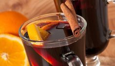 Heat up from inside out with this spiced up red wine Gluhwein.