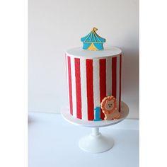 A bit of carnival fun for a 1st birthday today.....!  #birthdaycake #carnival #geometric #firstbirthday