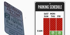 infographics make everything better - A Redesigned Parking Sign So Simple That You'll Never Get Towed | Design | WIRED
