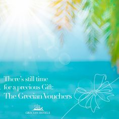 There's still time for a precious Gift: The Grecian Vouchers. A luxurious stay, a feast of flavour, a pampering day at the spa… You get to choose; they get to love. #GrecianHotels #Cyprus #Summer #SummerVibes #Travel #Wanderlust #AyiaNapa #Luxury #Suite #Hotel #Vacation #ExploreCyprus #Vouchers Grecian Sands, Grecian Bay, Park Hotel, Hotel S, Sands Hotel, Ayia Napa, Precious Gift, Wellness Spa, Five Star Hotel