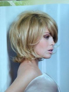 40 Short Bob Hairstyles: Layered, Stacked, Wavy and Angled Bob Cuts Short Hair With Layers, Layered Hair, Short Hair Cuts, Haircut Trends 2017, Medium Hair Styles, Curly Hair Styles, Mid Length Hair, Hair Color And Cut, Trending Haircuts