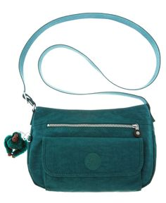 Kipling - Syro Crossbody Bag in Midnight Green. Sacs Kipling, Kipling Handbags, Kipling Backpack, Mini Backpack Purse, Girls Bags, Clutch Wallet, School Bags, Purses And Handbags, Bag Accessories