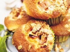 Äppelmuffins med smulkrisp