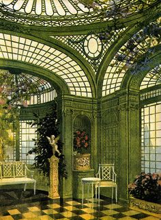 British Colonial Edwardian Conservatory.