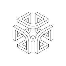 New geometric art design shape geometry 33 Ideas Geometric Art, Geometry, Design, Art Design, Impossible Shapes, Geometric Drawing, Tattoo Pattern, Illusion Art, Technical Drawing