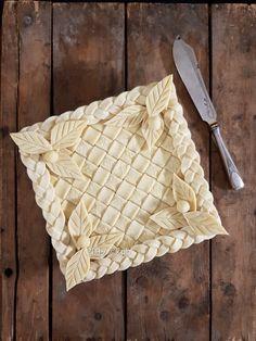 Pastry Pie Design - Square pie inspiration