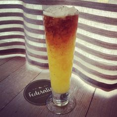 Beer Punch at the Federalist restaurant in Washington, DC