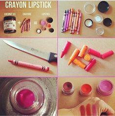 DIY: Lipstick ! Easy !