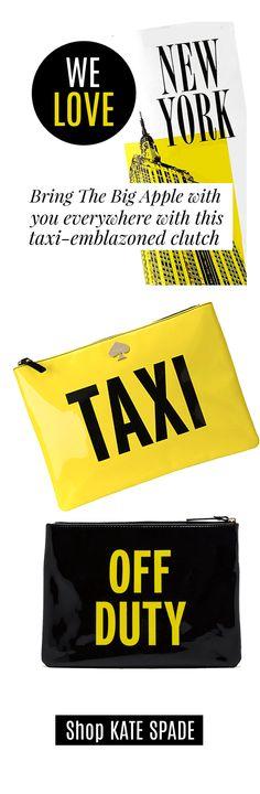 Kate Spade Taxi Pouch Bag