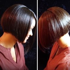 #ONYCHair #TransformationTuesday to a shorter length without cutting your own hair!  Get a #BoB cut like this #ONYCBeauty with #ONYC Light Relaxed Perm #hair.    Shop US Now >>> ONYCHair.com Shop UK Now >>> ONYCHair.uk Shop NG Now>>> ONYCHair.ng