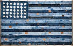 Ashbee Design: Denim Blue Jeans • Wall Art