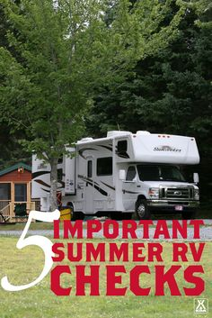 5 Important Summer RV Checks