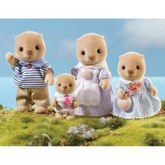 Sea Otter Family from Sylvanian Families | WWSM