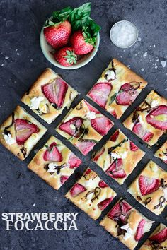Fully-Loaded Strawberry Focaccia | Kailley's Kitchen