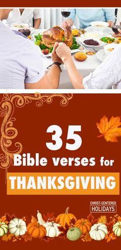 35 Awesome Thanksgiving Bible Verses to Share with Your Family