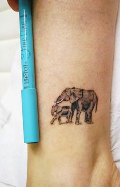 I totally want to get an elephant tat