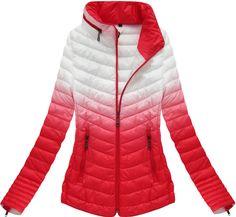 Dámska prechodná bunda červená xr7112x Winter Jackets, Fashion, Women, Winter Coats, Moda, Winter Vest Outfits, Fashion Styles, Fashion Illustrations
