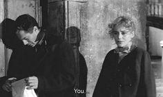Le Notti Bianche • Marcello Mastroianni & Maria Schell by Luchino Visconti 1957