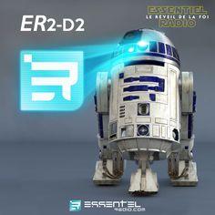 Star Wars joue les prolongations dans les studios d'ESSENTIEL ! Pour l'occasion, le mythique R2-D2 est rebaptisé ER2-D2 ^^ Que la #Starwarisation commence !!!