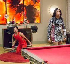 Grace Gealey & Tariji P. Henson on 'Empire' - Season 1 Finale