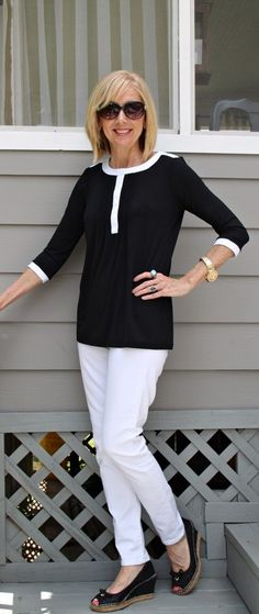 FASHION FIX: Black and white ensembles!