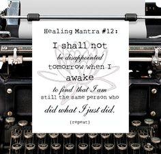 toMorrow  Bipolar Betty Healing Mantra card by bipolarbettygoods, $3.00
