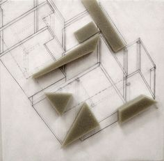 Architecture pepper and Sponge By Elif Kose