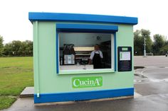 A recently installed Food Cube, supplied to Cucina for use at a school in London, has replaced a lunchtime trolley service for pupils. Since it has been installed, sales have more than trebled! Schools In London, Lunch Time, Cubes, Landline Phone, Food, Eten, Meals, Diet