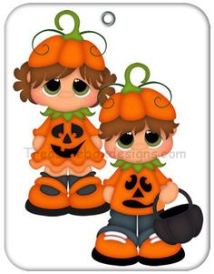 Little Gems (Pumpkin Kids) - Treasure Box Designs Patterns & Cutting Files (SVG,. Dulceros Halloween, Moldes Halloween, Halloween Clipart, Halloween Painting, Halloween Drawings, Halloween Home Decor, Halloween Decorations, Halloween Costumes, Scrapbook Patterns