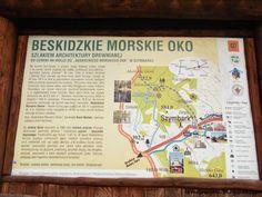 Ścieżka od cerkwi na Wólce do Beskidzkiego Morskiego Oka Polish Mountains