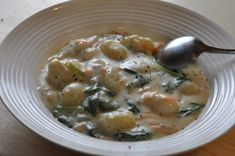 Olive Garden Chicken Gnocchi Soup. My all-time favorite soup!