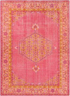 Zahra Hot/Pink Area Rug