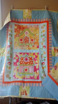 Lilah's Quilt - made for my friend Brandi's daughter.