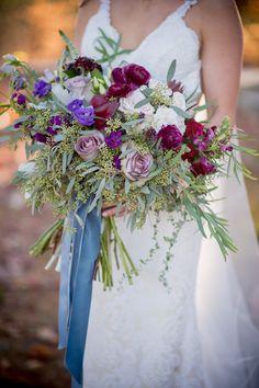 Planning A Fantastic Flower Wedding Bouquet – Bridezilla Flowers Purple Wedding Bouquets, Flower Bouquet Wedding, Floral Wedding, Fall Wedding, Wedding Colors, Rustic Wedding, Wedding Dresses, Bridezilla, Wedding Couples